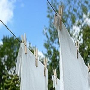 vonný vosk vyprané prádlo